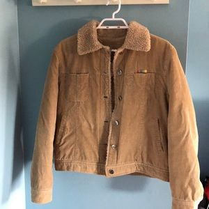 Corduroy Sherpa jacket